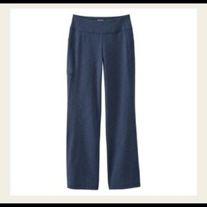 Women's Duluth Trading Co Navy Blue Noga Pants